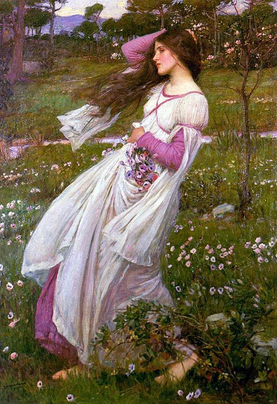 Waterhouse-- Windflowers
